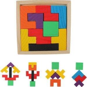 Поставка деревянных головоломок Танграм